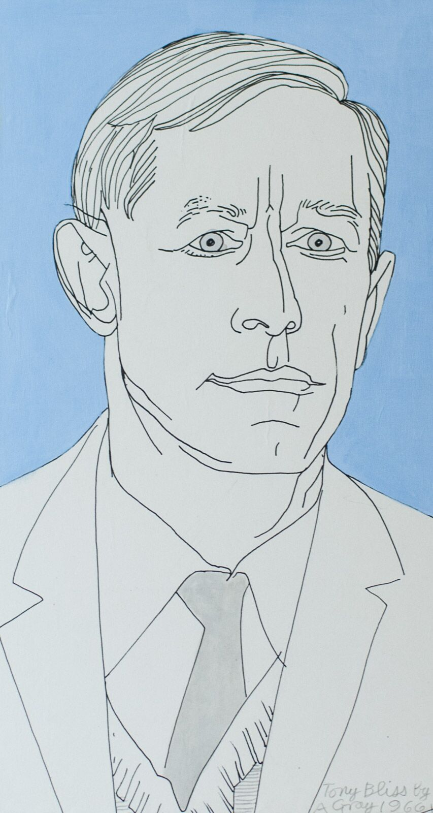 Tony Bliss by Alasdair Gray